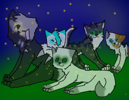 Those Cats With the Stars in Their Pelts by EllaScout