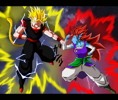 DragonBall Oc Burst Entry - Kalixto vs Torock by Metamine10