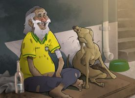 friendly brazilian hobo by mendigo-amigo