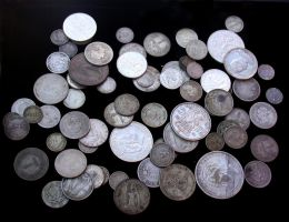 ancient world coins by epitomei-stock