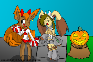 G:. Halloween Costumes by weavilebaby1220