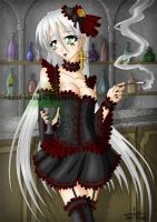 Absinthe with Faust -colours- by Kami-Kanagai