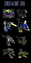 ZOIDs Collaboration by BladeGunSniper