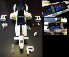 LEGO gunship 02 by Bocma