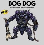 Bog Dog - Tar Swamp Minion by oICEMANo