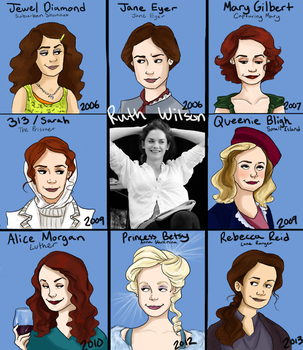 Ruth Wilson Bunch by wolf-pirate55