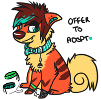 Growlithe PKMN Character -Offer to adopt- CLOSED by SpunkyAdopts