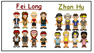 Survivor China Cast by SWSU-Master