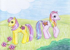 Royal Bouquet and Wind Drifter by NormaLeeInsane