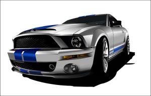 Ford Mustang Shelby by psanmez