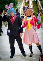 Hayate and Hinagiku - AWA 2010 by MiaHinano