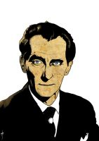 PETER CUSHING by GORMANDRA
