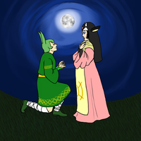 PP- Late Night Proposal by Mariannefosho