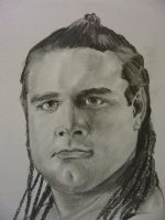 WWE British Bulldog by VinceArt