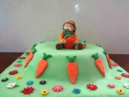 Grandpa and his carrot cake :) by shults