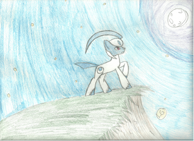 Absol [Pony Version] by mintysong