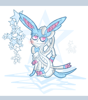 Shiny Sylveon Practice by Shadow-Pikachu6