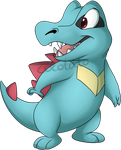 Totodile by Cocotato