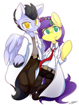 0024 Commission - Partners of Science by DShou