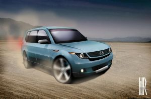 SUV2 by turbocharger