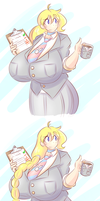 A suit? What the- by theycallhimcake