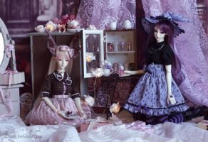 Room of sweets by Sarqq