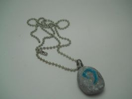 World of Warcraft Hearthstone Necklace by TiellaNicole