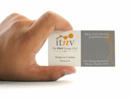 The ITnV Group Business Card by AxeField