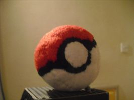 Pokeball plush by VenomousDesires