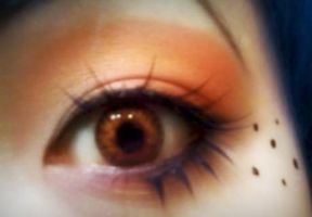 Orange Tropicana Eye by flavor-of-life4ever