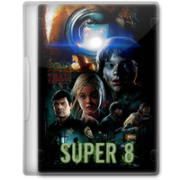 Super 8 (2011) Movie DVD Icon by A-Jaded-Smithy