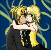 Rin and Len by Peaches5189