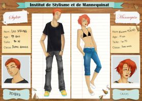 ISM _ Leo et Roxanne Young by MeikaSan