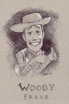 Woody Pride :Ink - Toy Story: by JereduLevenin