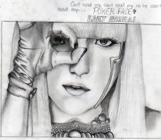 Lady Gaga Pokerface by pekirock