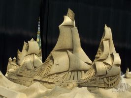 sand sculpture IX by soho-power