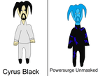 Powersurge civilian, and unmasked referances by hydranoid2009