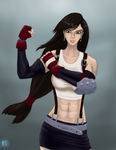 Tifa the Fighter by ElPanachino