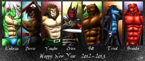 Happy New Year 2012-2013 by SymbolHero