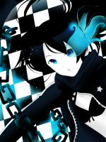 black rock shooter by nikakeikoku