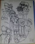Hollow Showers sketch dump #1 by firecrystal1092