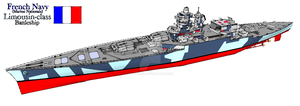 Limousin-class French Battleship by Scryer117