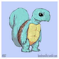 007 Squirtle by bensigas