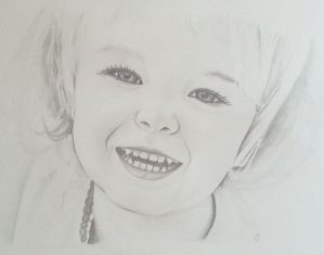 Tilly's Potrait by Sarah-Maxine