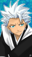 Hitsugaya Toshiro For Iphone5 by SilverDrawing88