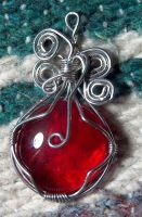 Wire pendant 85 by Kimantha333