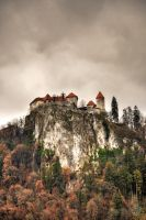The castle on the rock by XanaduPhotography