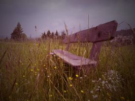 Where we used to sit together for hours by AztecAngelo