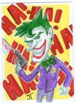 The Joker by johnnyism