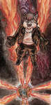 15.09.04 Commission - The Universe on Fire by Torajio
